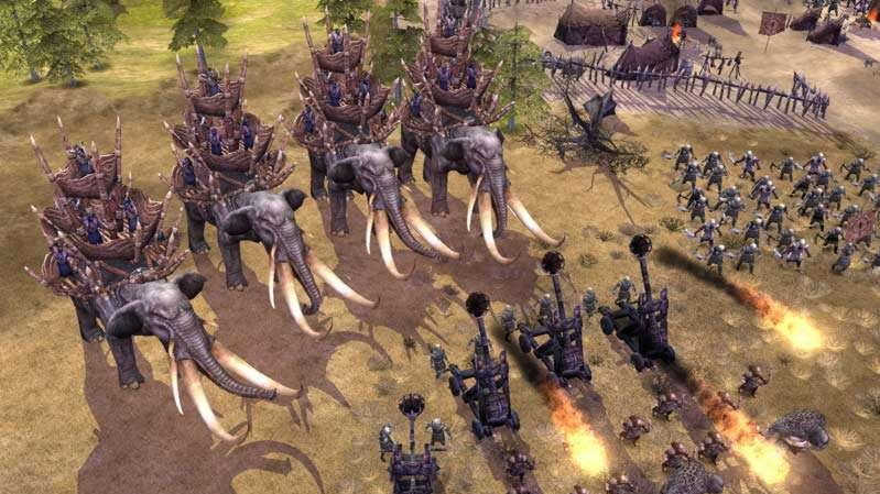 3D RTS LotR: Battle for Middle-Earth