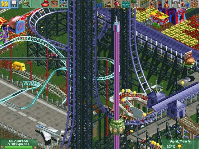 RollerCoaster Tycoon 2: Time Twister