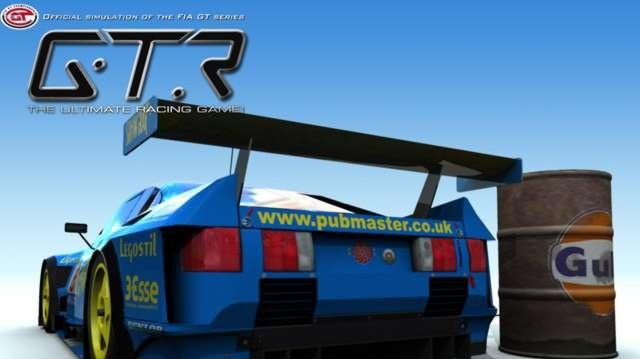 Nová závodní simulace GTR s licencí FIA