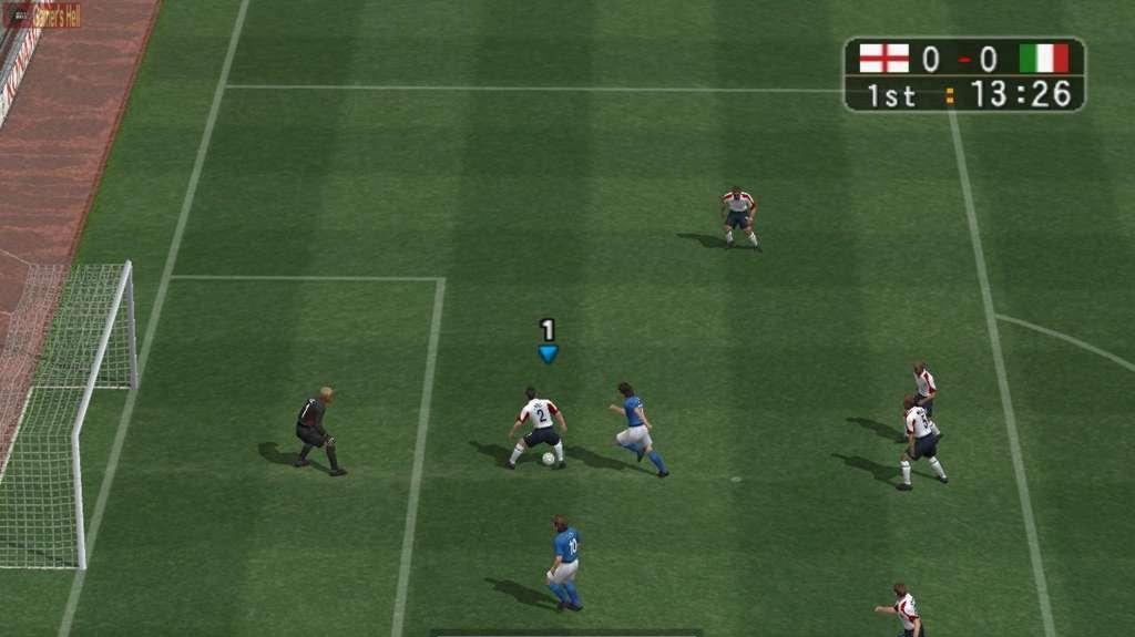 Pěkné obrázky z Pro Evolution Soccer 3