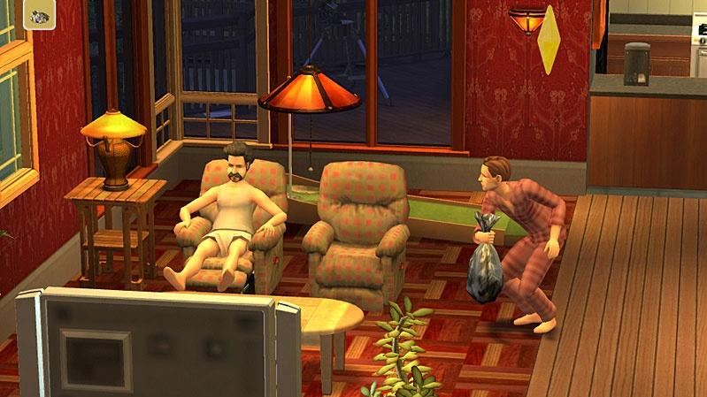 Leoš Mareš o svém účinkování v The Sims 2