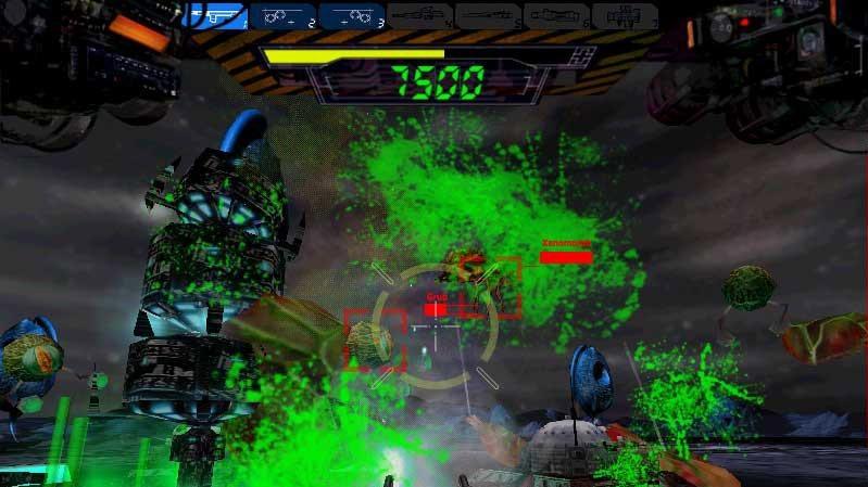 Arkádová střílečka Alien Blast - The Encounter