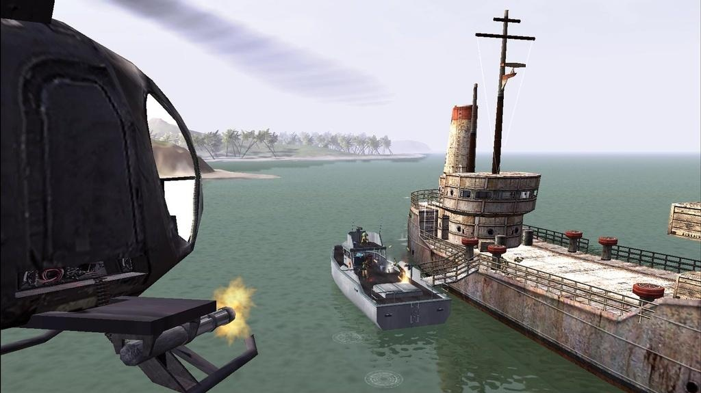 Ukázky helikoptéry z Joint Operations