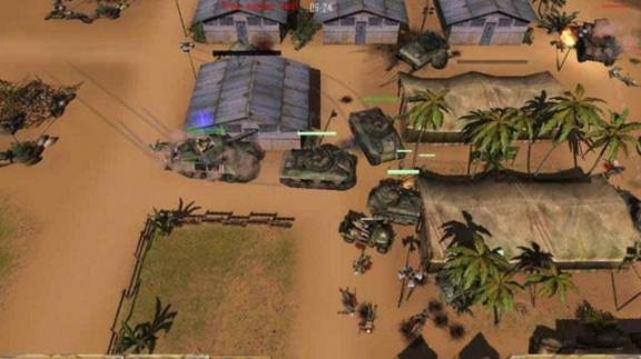 Homepage hry Desert Rats vs Afrika Korps