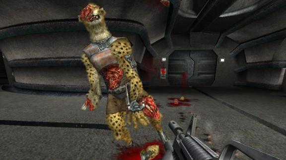 Vivisector: Beast Inside - systém zničení