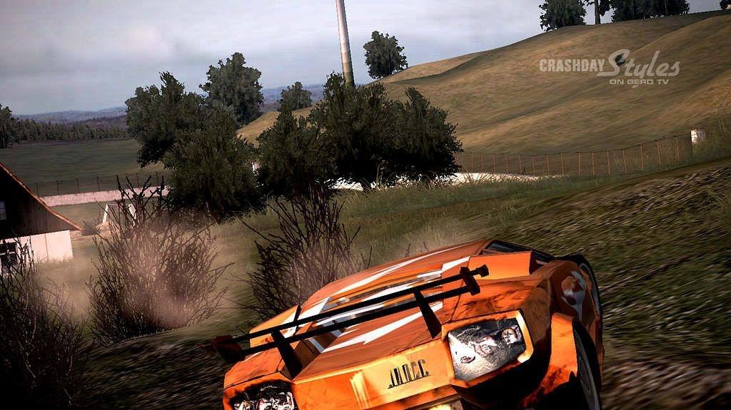 Crashday - Stunts a Carmageddon v jednom