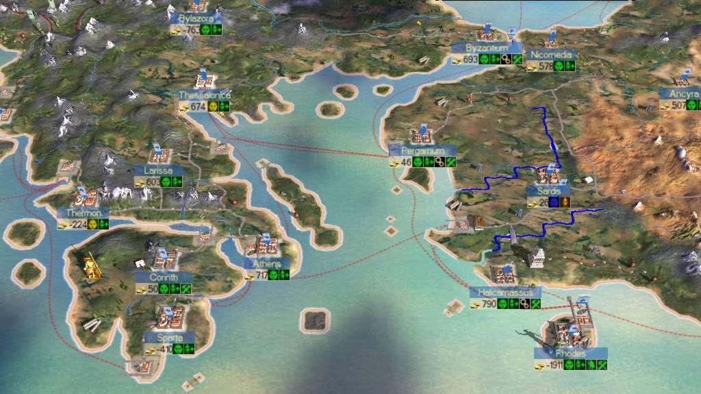 Šikování armád v Rome: Total War