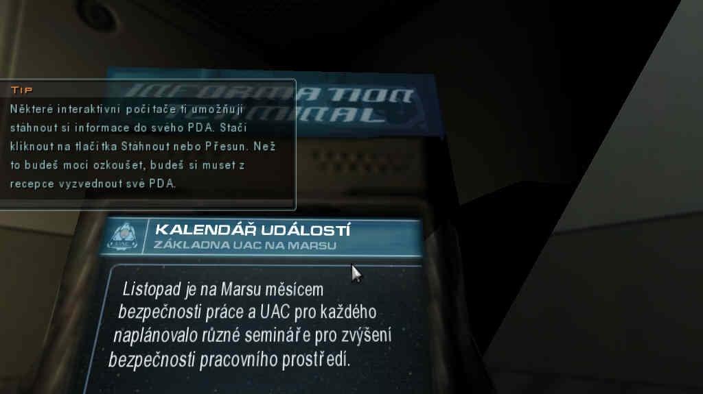 Obrázky z češtiny pro DOOM III