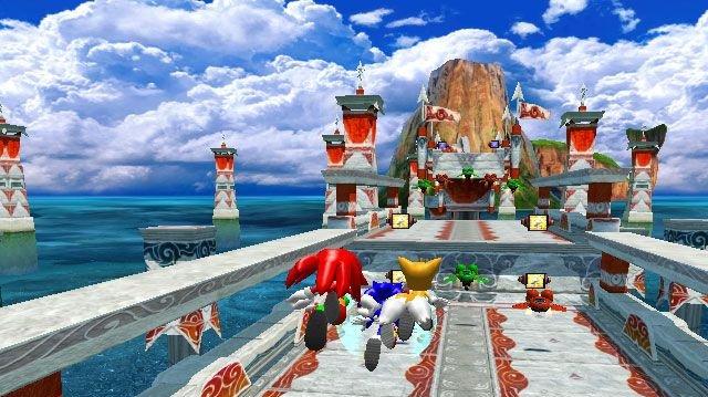 Sonic Heroes - recenze