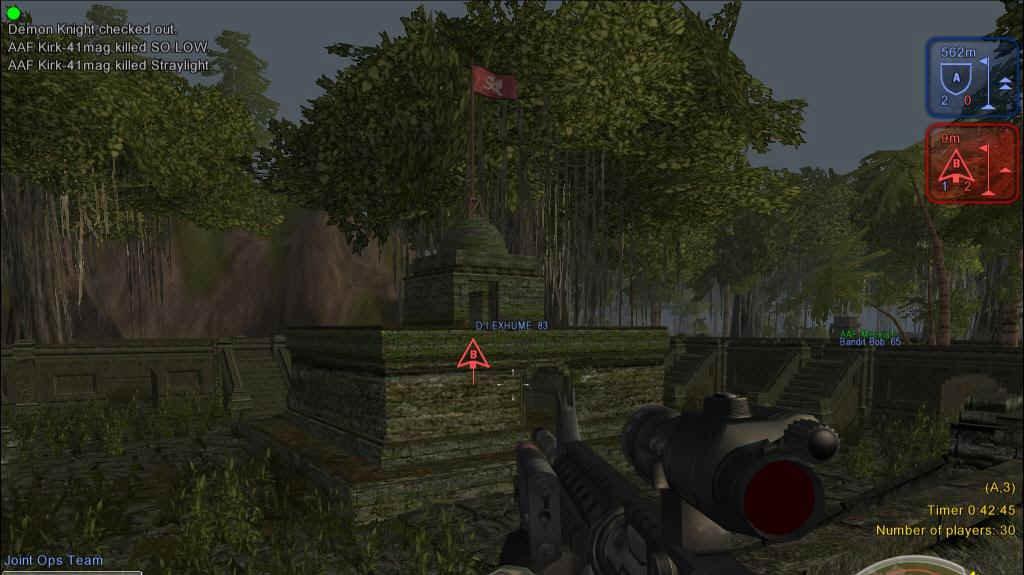 Ukázky z multiplayer akce Joint Operations