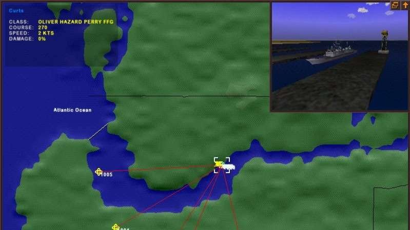 Ohlášení námořní simulace Dangerous Waters
