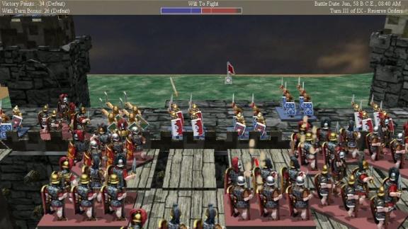Tin Soldiers: Julius Caesar hotova