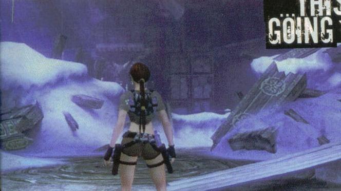Nová vizáž Lary Croft v Tomb Raider Legend