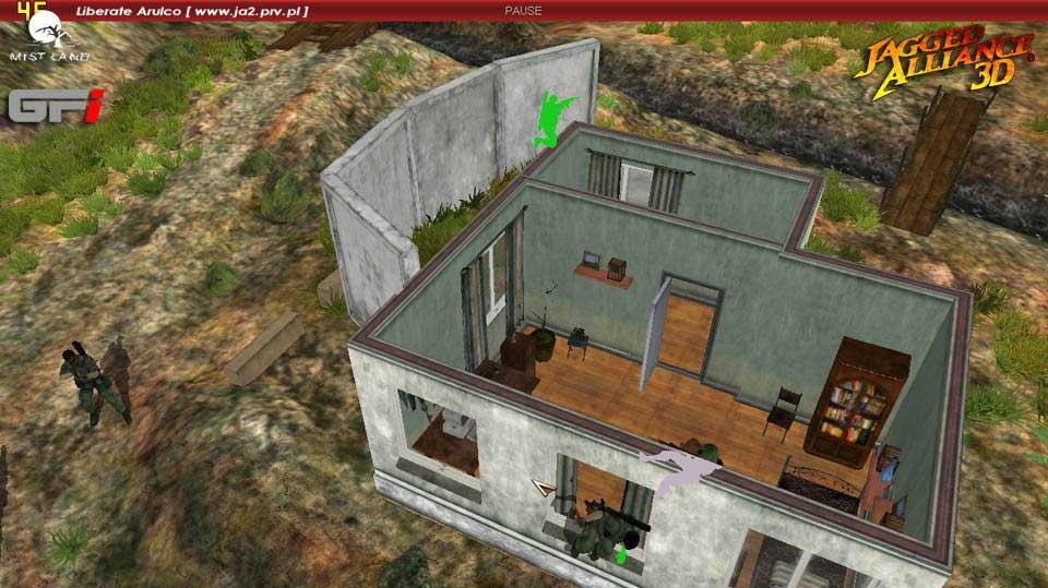 Jagged Alliance 3D detaily