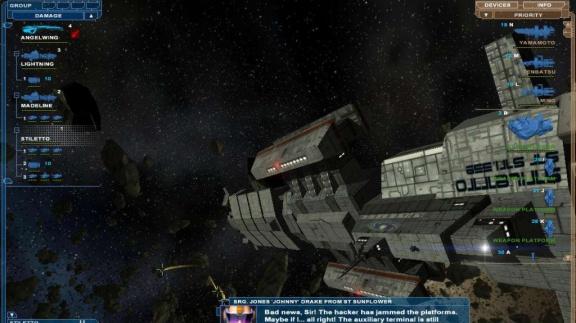 Imperium Galactica III - první dojmy
