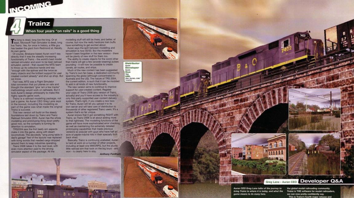 Ohlášení Trainz Railroad Simulator 2006