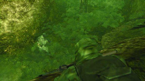 Střípky z Metal Gear Solid 3: Subsistence