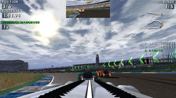 Rychlé vozy ve World Racing 2
