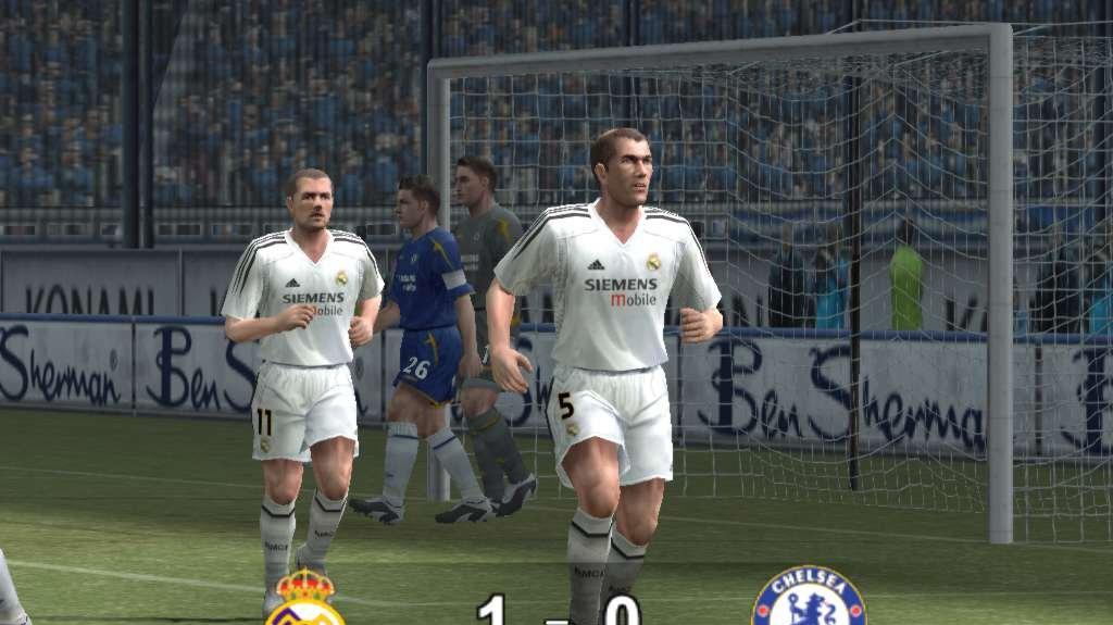 Ohlášení fotbálku Pro Evolution Soccer 5