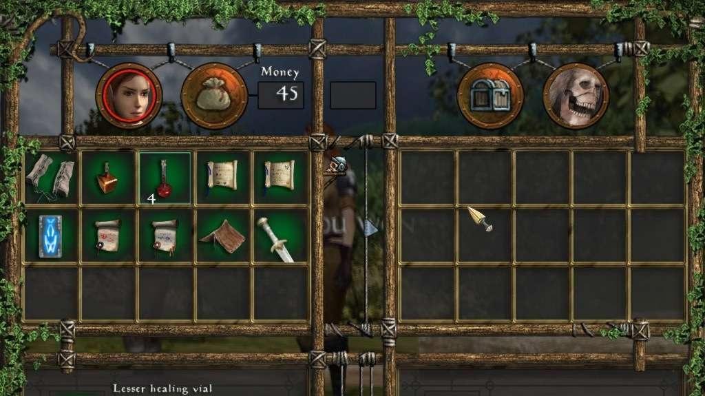 Fantasy RPG Neverend v obrazech