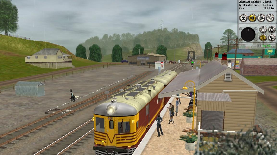 Trainz Railroad Simulator 2006 CZ recenze