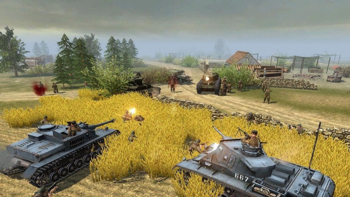 Fyzika v RTS Faces of War