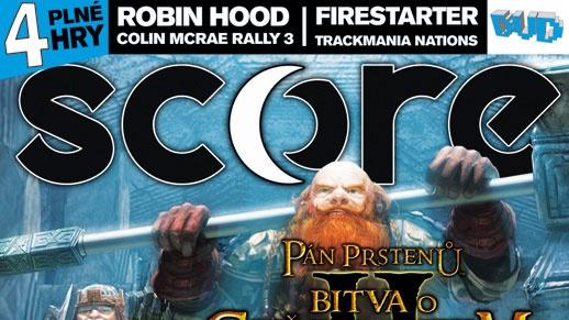 SCORE 145 s Battle for Middle-Earth 2 a herním kvízem