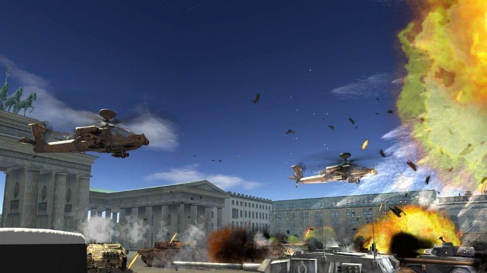 Screenshoty z WOFOR: War on Terror
