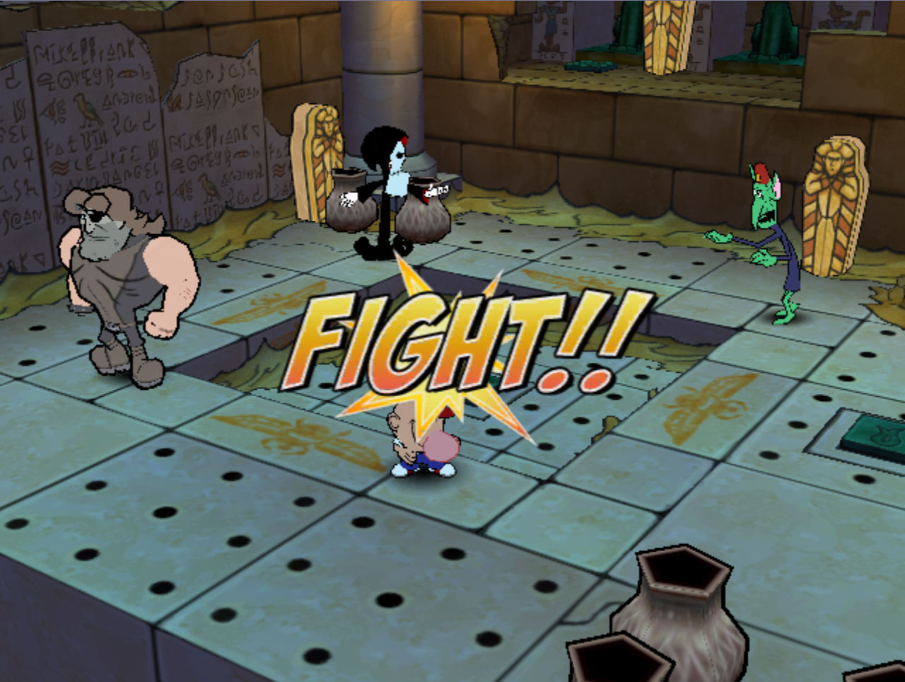 billy and mandy video game