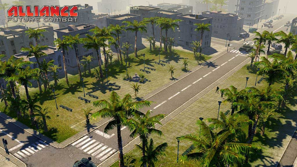Lavina ukázek z Alliance: Future Combat