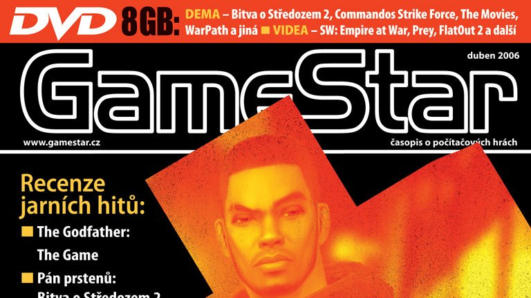 GameStar 83 s TOCA Race Driver 3 a Godfatherem