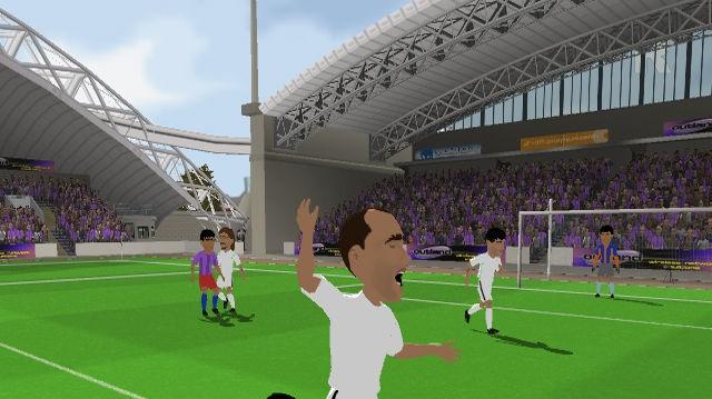 Sensible Soccer 2006 s velkými hlavami fotbalistů
