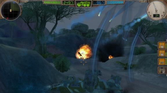 Nebezpečný svět v Hard Truck: Apocalypse