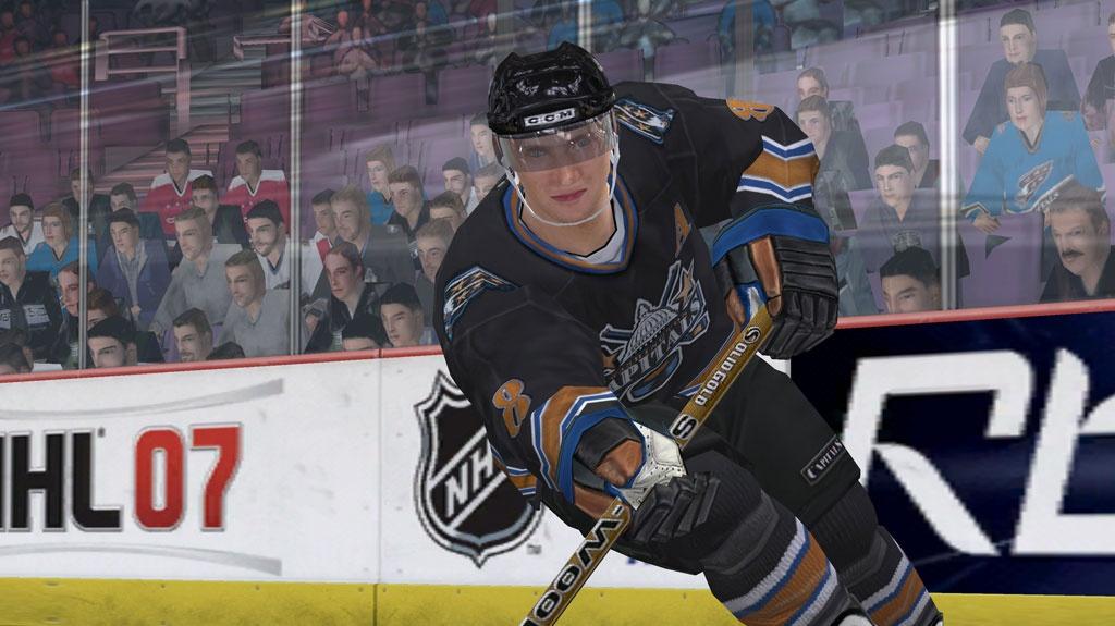 Poodhalení NHL 07 s Alexandrem Ovečkinem
