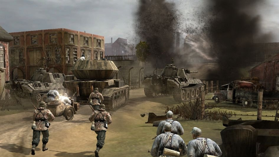 Company of Heroes žije i 11 let od vydání – update přidává podporu Steam Workshop