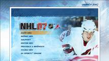 NHL 07 - mega-recenze české PC verze