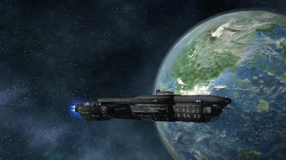 Do vesmíru se Starshatter: The Gathering Storm