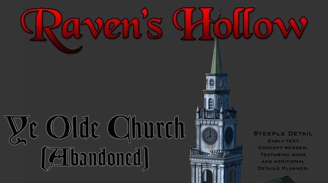 Hororová adventura Ravens Hollow
