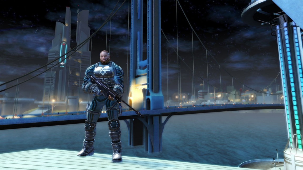 Crackdown (X360) - na výlet do Pacific City