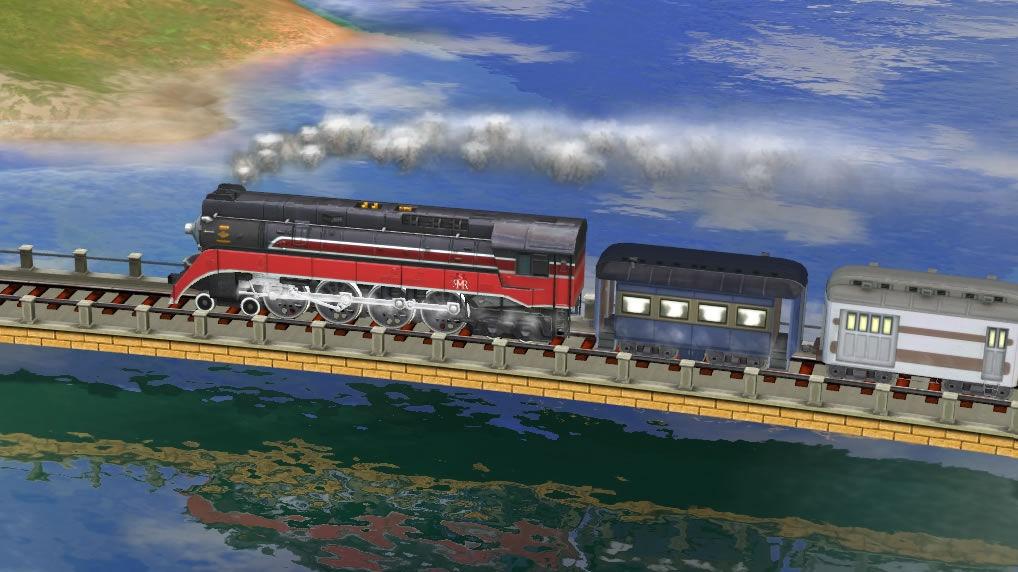 Sid Meier Railroads hotova