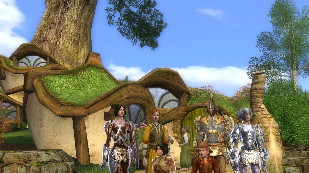 Připomenutí MMORPG Lord of the Rings Online