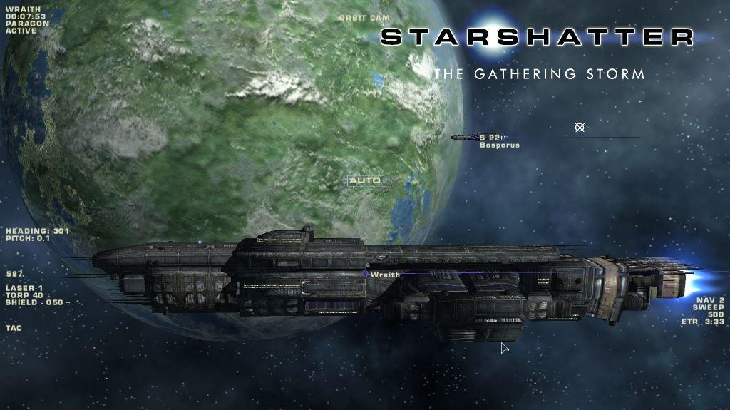 Starshatter: The Gathering Storm hotova