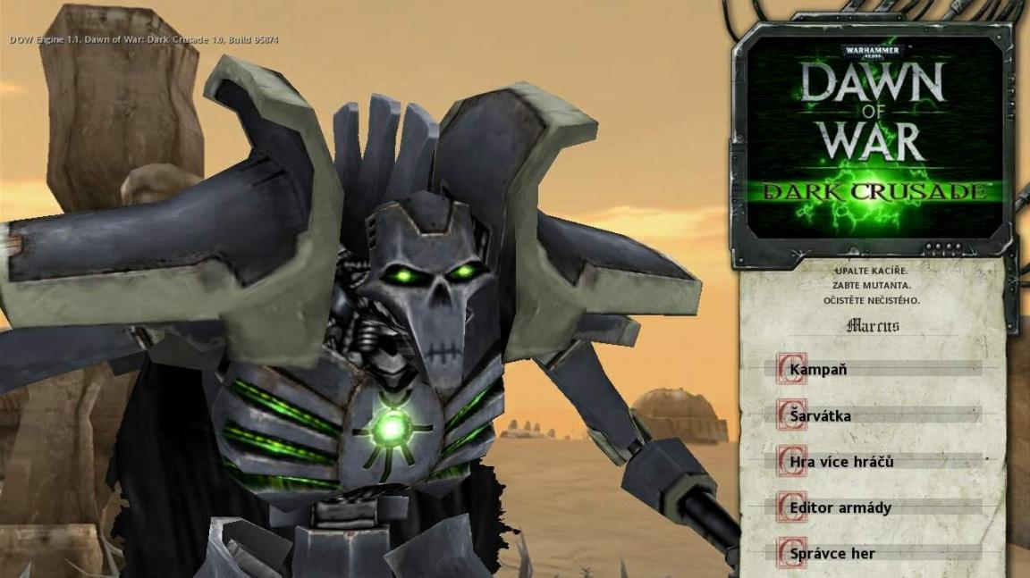 Warhammer: Dark Crusade CZ recenze