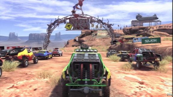 Nahrávky PS3 dema vylepšeného MotorStorm