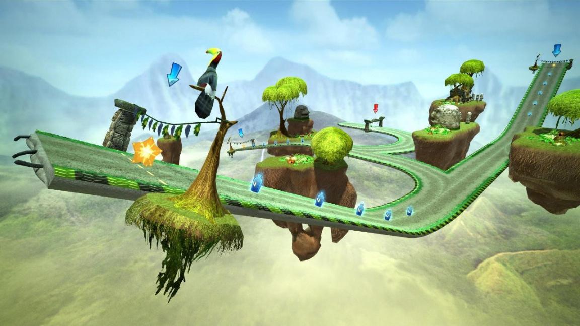 Gripshift jako stažitelná hra pro PS3