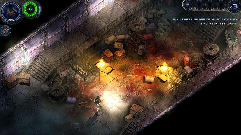 Homepage pro Alien Shooter 2: Vengeance