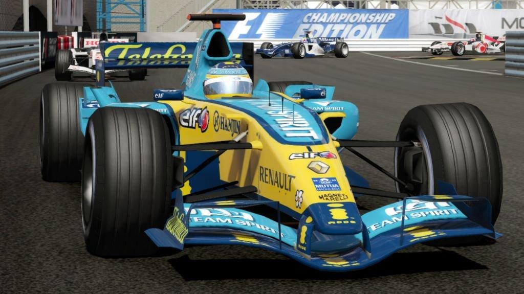 Online závodění ve Formula One Championship Edition