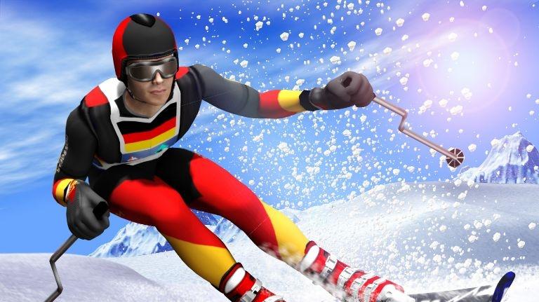 Winter Sports - hra hotová, nové ukázky