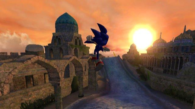 Modrý ježek v Sonic and the Secret Rings