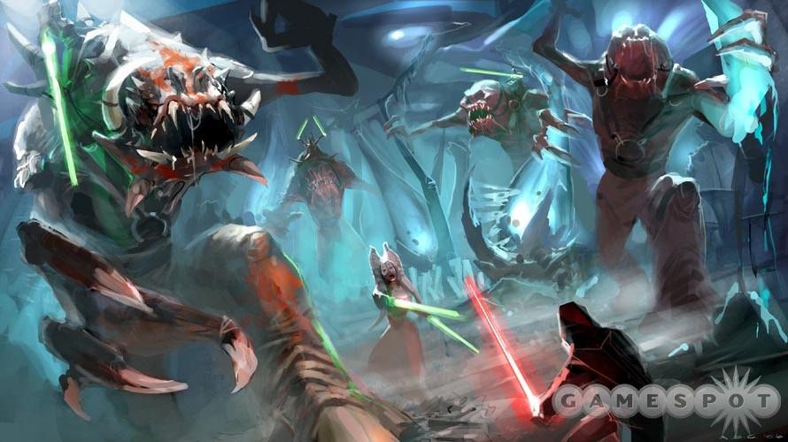 Podrobnosti o Star Wars Force Unleashed